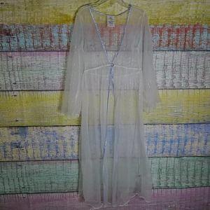 Frozen 2 see thru robe size 7/8